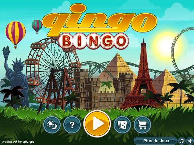 Démarrer le jeu sur Qingo Bingo
