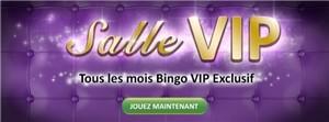 Salle VIP OnlineBingo