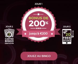 Nouveau bonus de bienvenue OnlineBingo